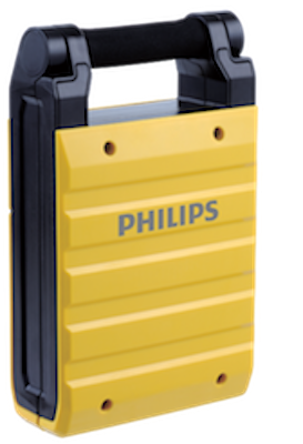 Светодиодный прожектор Philips Essential SmartBright Portable Worklight BGC110 YELLOW​ 10 Вт 871016334459199 фото