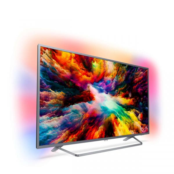 ЖК Телевизор Ultra HD Philips 55PUS7303 55 дюймов 4k uhd телевизор philips 55 pus 6503 60