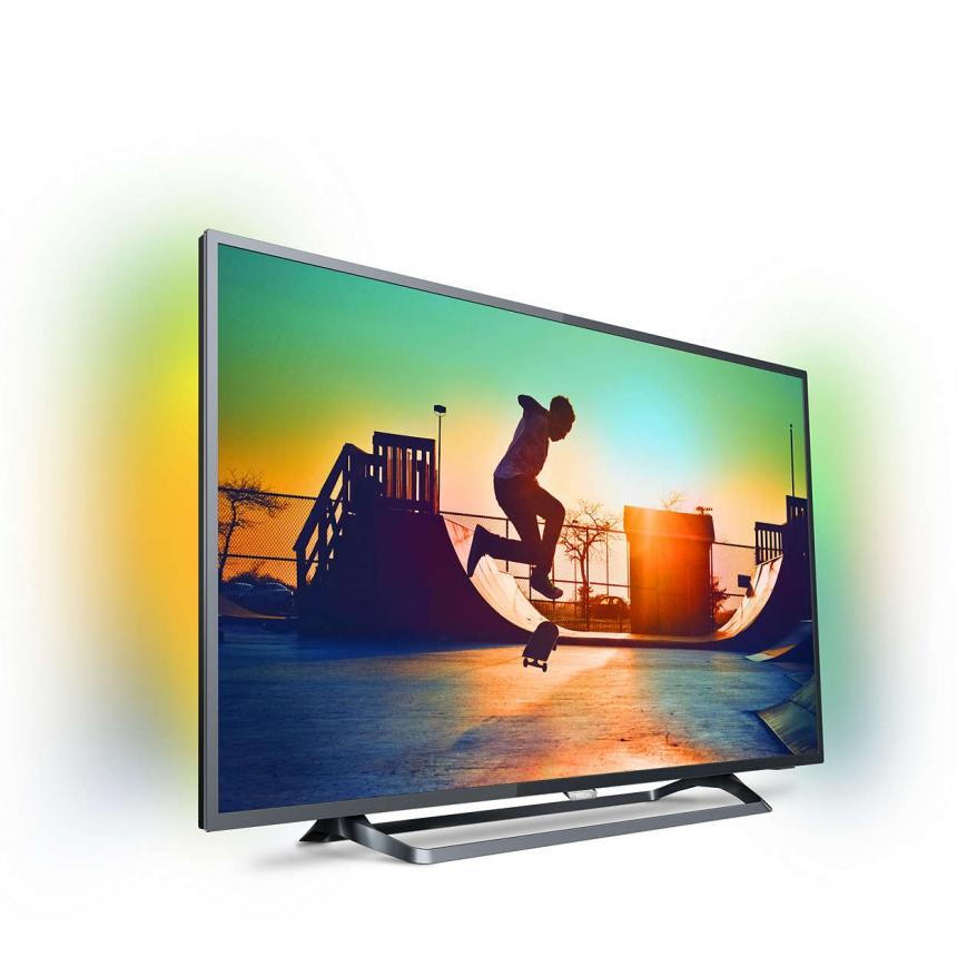 ЖК Телевизор Ultra HD Philips 50PUS6262 50 дюймов tv lcd philips