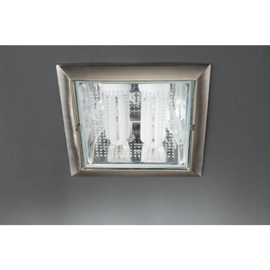 Встраиваемый спот VETA recessed nickel 2x14W Massive 59796/17/10 спот 56480 31 16 philips