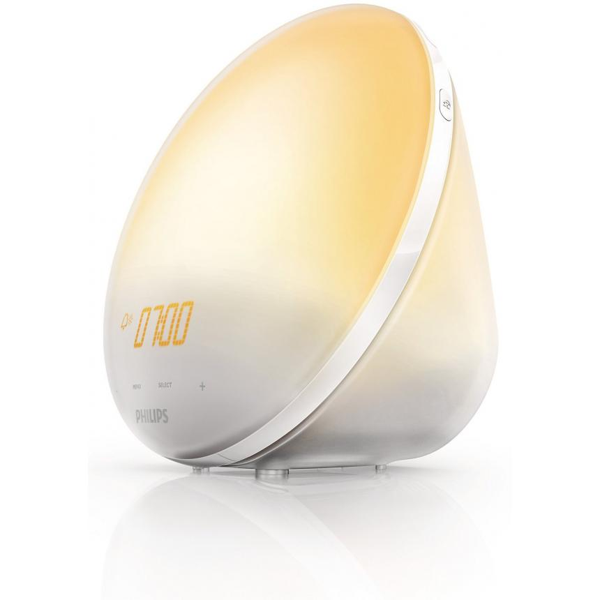 Световой будильник Philips Wake-up Light HF3510 wake up dear consumer