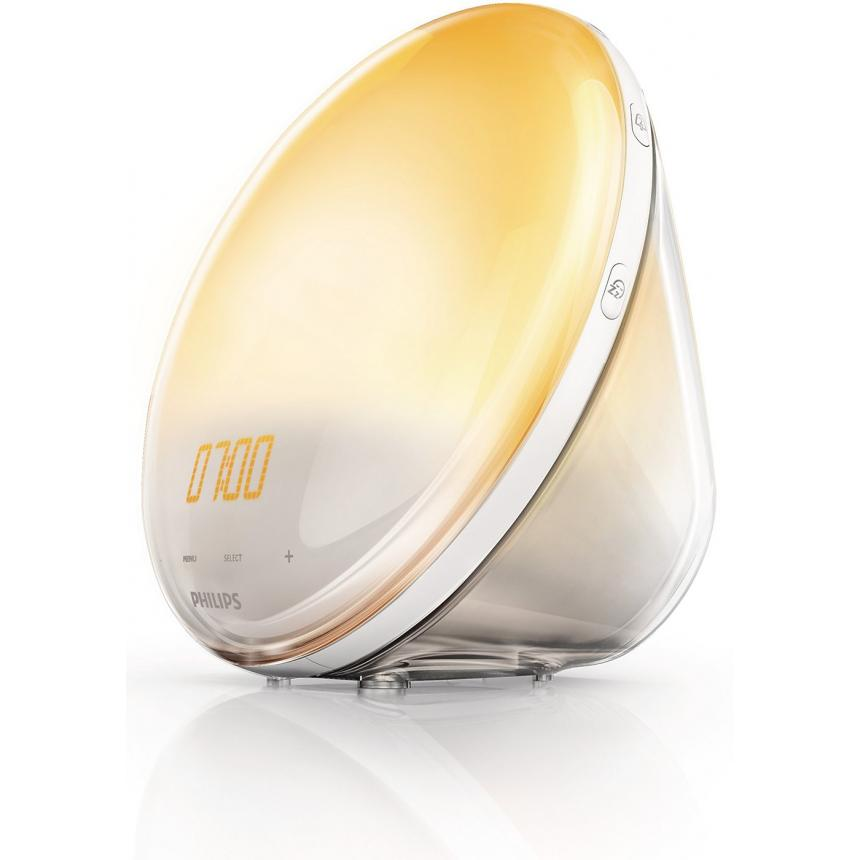Световой будильник Philips Wake-up Light HF3520 wake up dear consumer