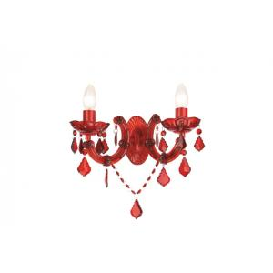 Бра wall lamps red 2x60W Massive 45936/32/10