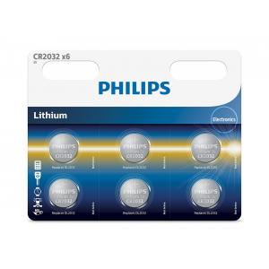 Батарея Philips CR2032P6