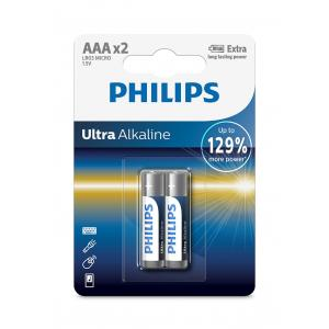 Батарея Philips Ultra Alkaline LR03E2B