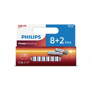 Батарея Philips Power Alkaline LR03P10WP