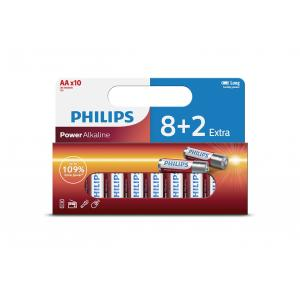 Батарея Philips Power Alkaline LR6P10WP