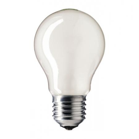 Лампа накаливания Philips E27 A55 230V FR.1CT/12X10F 40 Вт