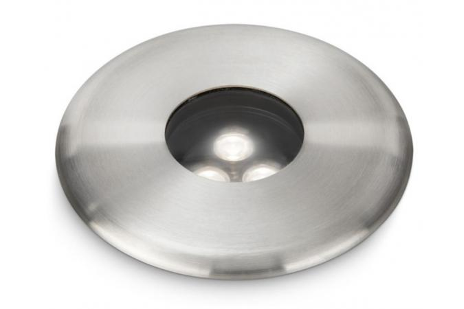 Светильник Ledino recessed LED inox 3x2.5W SELV Philips 16813/47/16