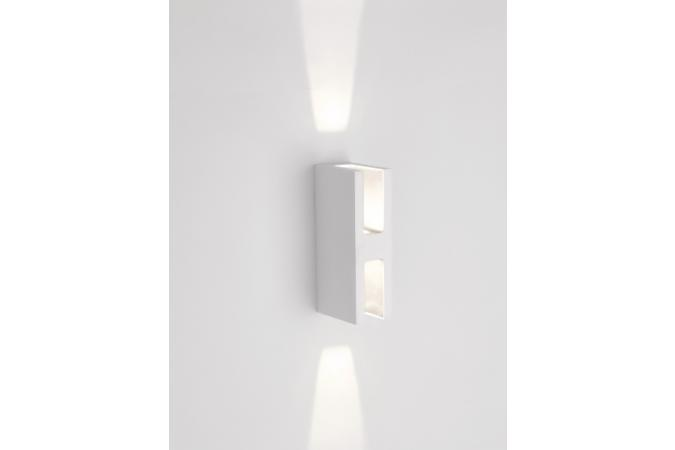 Светильник Ledino wall lantern LED white 2x7.5W SEL Philips 16819/31/16