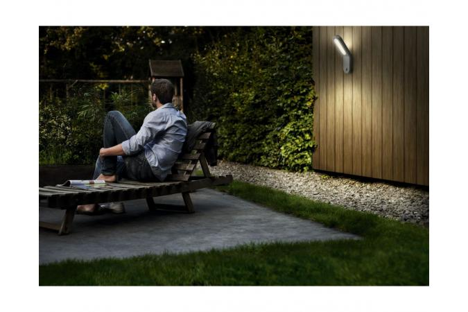 Уличный светильник Ecomoods wall lantern grey 1x11W  Philips 16909/87/16