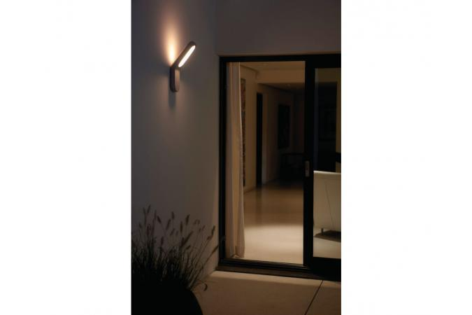 Уличный светильник Ecomoods wall lantern grey 1x11W  Philips 16910/87/16