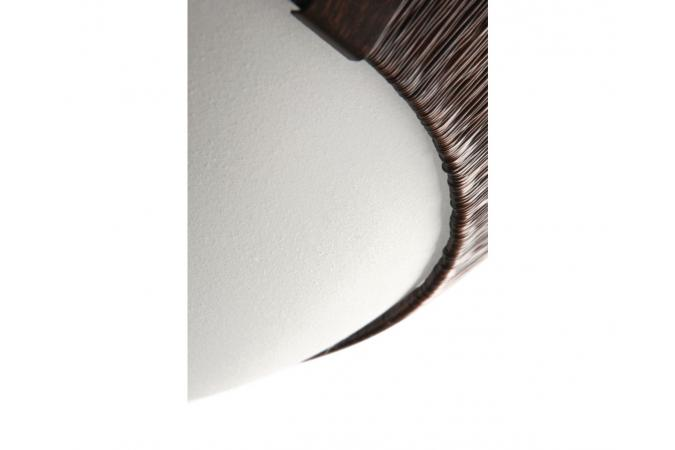 Светильник потолочный Bakersfield ceiling lamp BrownBrush 1x Philips 30184/43/16