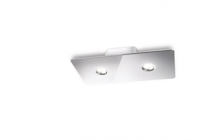 Потолочный светильник Ledino ceiling plate chrome 2x7.5W SELV Philips 31605/11/16