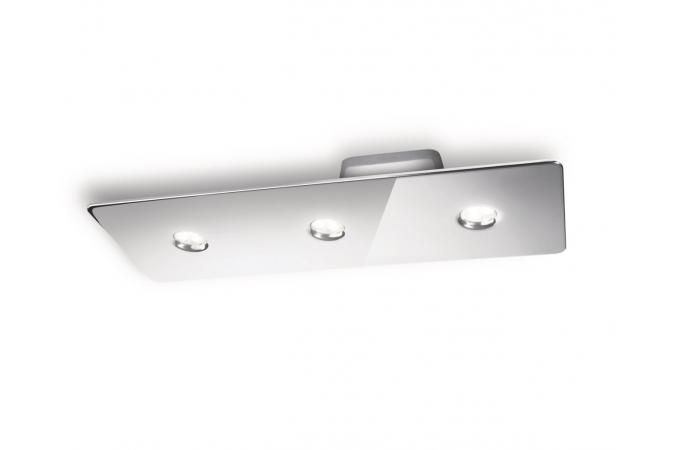 Потолочный светильник Ledino ceiling plate chrome 3x7.5W SELV Philips 31606/11/16