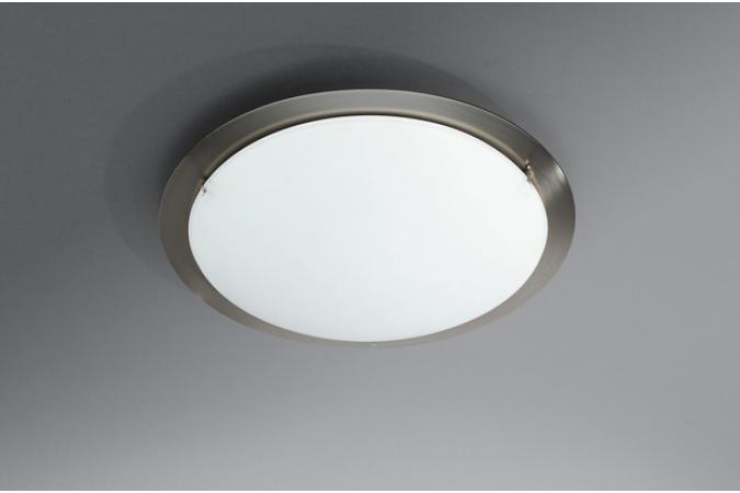 Светильник ATLANTIS ceiling lamp nickel 1x75W  Massive 32021/17/10