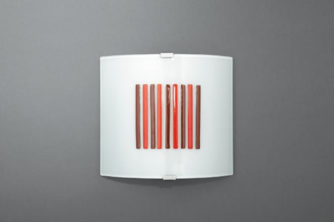 Светильник HOLLY wall lamp red 1x40W Massive 33164/32/10