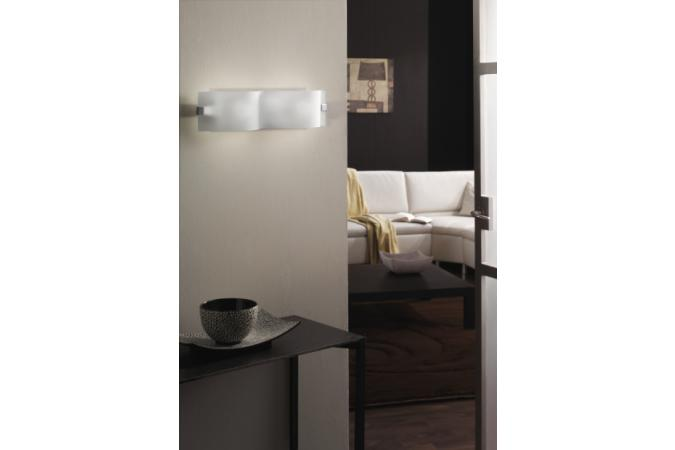 Бра DONNA wall lamps chrome 2x60W Massive 33184/11/10