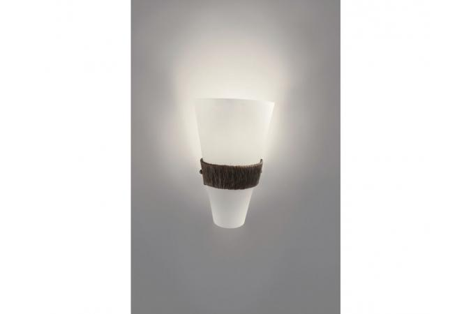 Светильник настенный Bakersfield wall lamp BrownBrush 1x60W Philips 33204/43/16