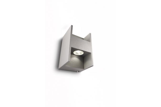 Бра wall lamps grey 2x2.5W SELV Philips 33602/87/16