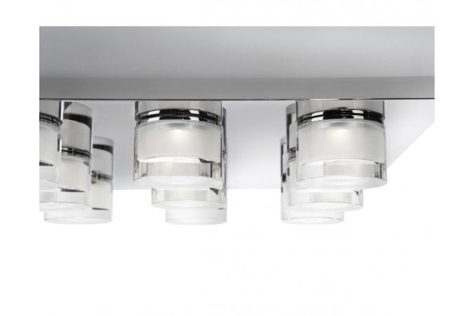 Светильник DARIUS ceiling lamp LED chrome 9x2.5W Philips 37246/11/13