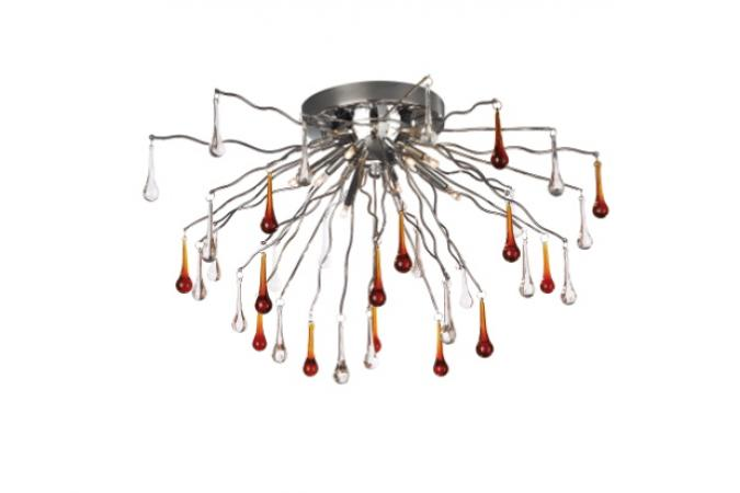 Светильник GISCA ceiling lamp chrome 8x10W 12V Massive 37295/11/10