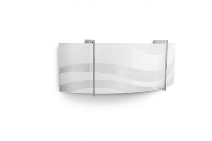 Светильник ONDAS wall lamp chrome 2x60W Philips 37501/11/16