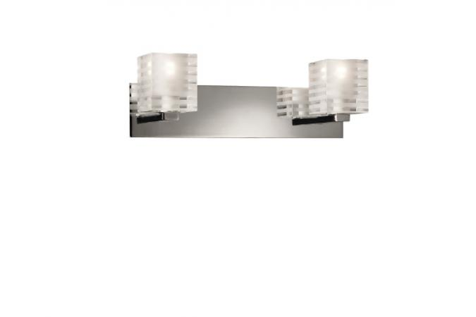 Бра VITALI wall lamps clear 2x40W Eseo 37572/60/13