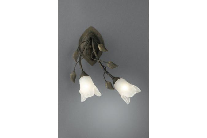 Бра wall lamps BrownBrush 2x60W Massive 38837/43/10