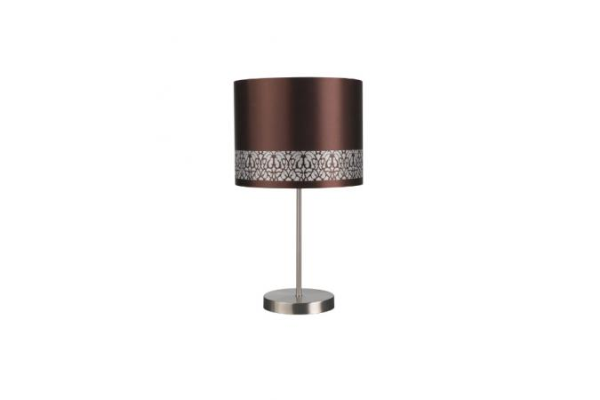 Светильник HARVEY table lamp BrownBrush 1x40W Massive 39049/43/10