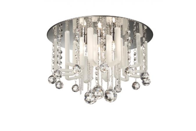 Светильник ROSARIO ceiling lamp clear 4x40W Eseo 40383/60/13