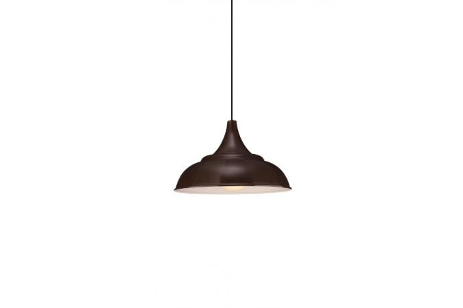 Светильник MAUNO pendant brown 1x40W Massive 40626/43/10