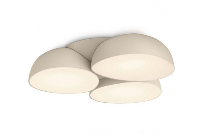 Светильник потолочный  Stonez ceiling lamp LED cream 9x2.5W SEL Philips 40828/38/16