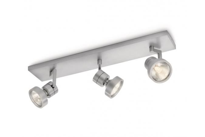 Светильник точечный DRIVE bar/tube aluminium 3x75W 230V Philips 53033/48/16