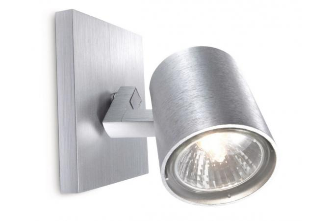 Светильник точечный RUNNER single spot aluminium 1x50W 230V Philips 53090/48/16