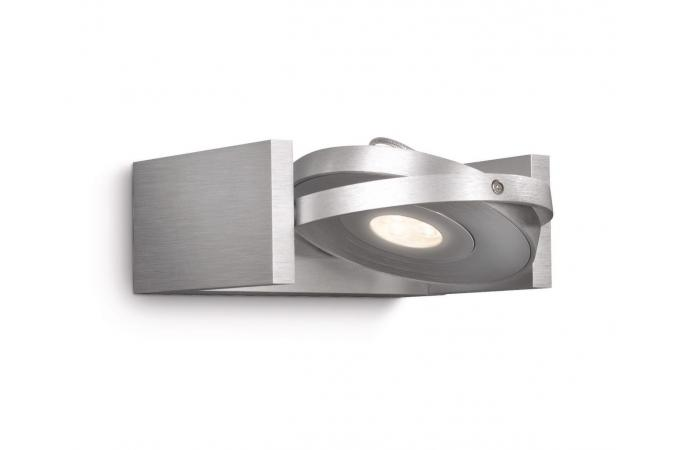 Светильник точечный PARTICON single spot LED aluminium 1x7.5 Philips 53150/48/16