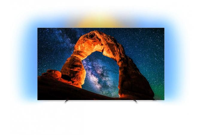 OLED Телевизор Ultra HD Philips на базе ОС Android 55OLED803 55 дюймов