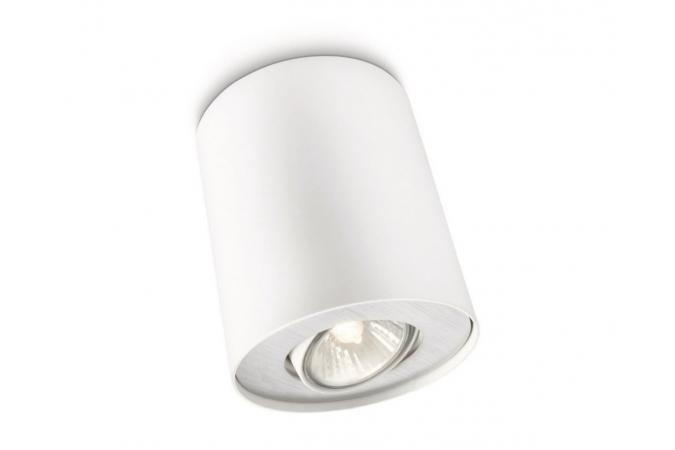 Светильник точечный PILLAR single spot white 1x50W 230V Philips 56330/31/16