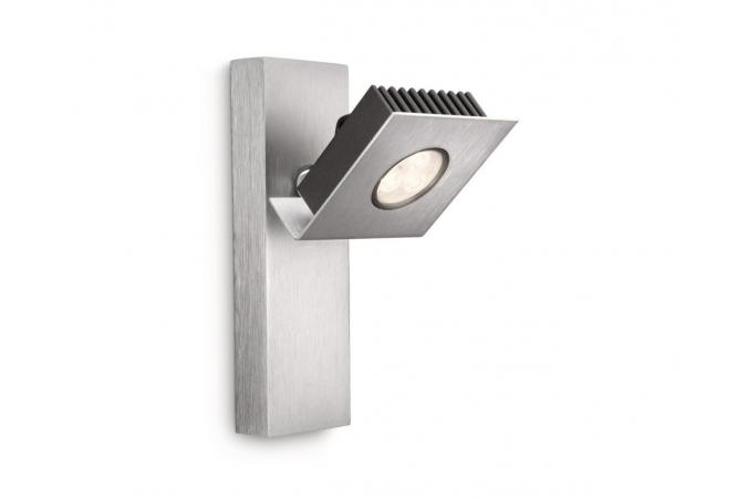 Светильник точечный METRYS single spot LED aluminium 1x7.5W Philips 56430/48/16