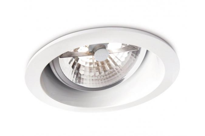 Светильник SMARTSPOT recessed white 1x35W 12V Philips 57975/31/16