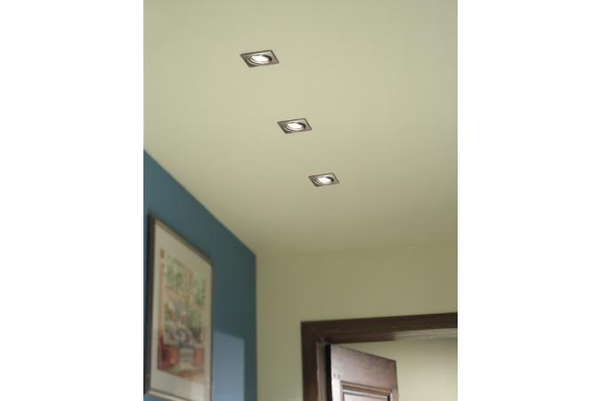 Встраиваемый спот QUARTZ recessed nickel 3x50W Massive 59323/17/10