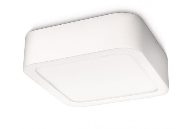 Светильник точечный Canis plate/spiral LED white 1x15W SELV Philips 59712/31/16