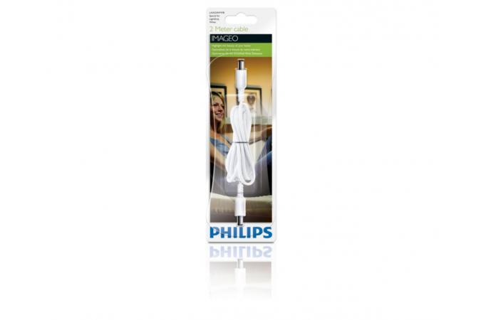 Кабель 2M EXT HLA white 1x  SELV Philips 69134/31/PH