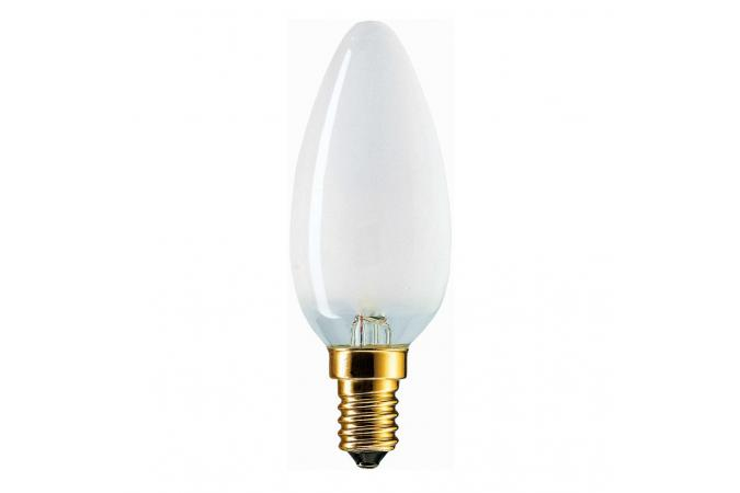 Лампа накаливания Philips E14 B35 230V FR.1CT/10X10F 40 Вт