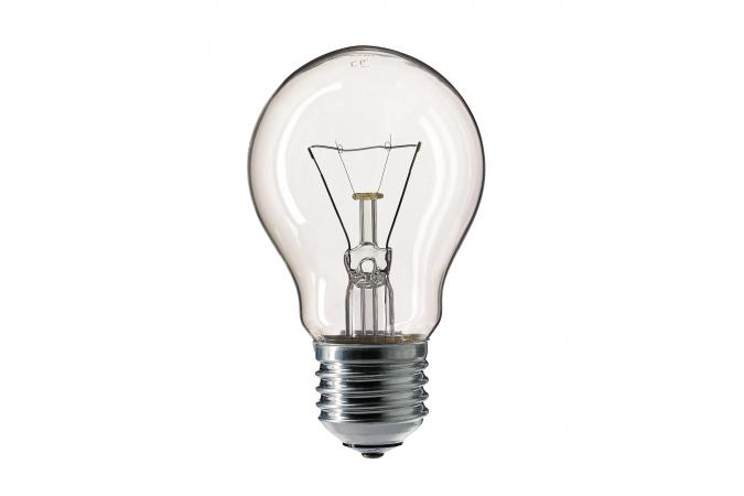 Лампа накаливания Philips E27 A55 230V CL.1CT/12X10F 75 Вт