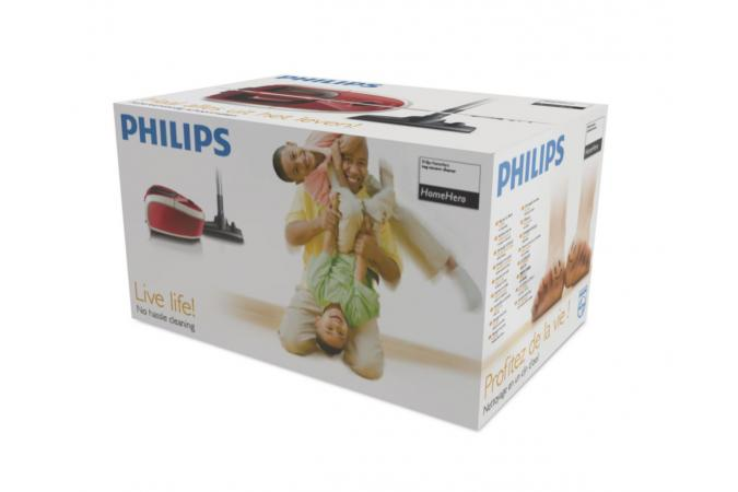 Пылесос Philips HomeHero FC8913