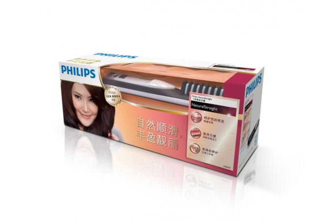 Выпрямитель Philips  HP8297 Straightener Natural