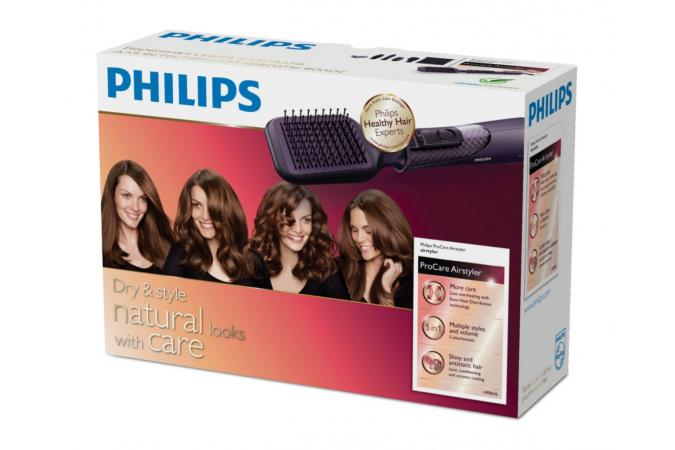 Фен-щетка Philips HP8656