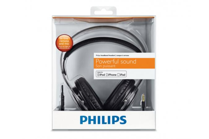 Гарнитура с оголовьем для iPhone Philips SHH9567