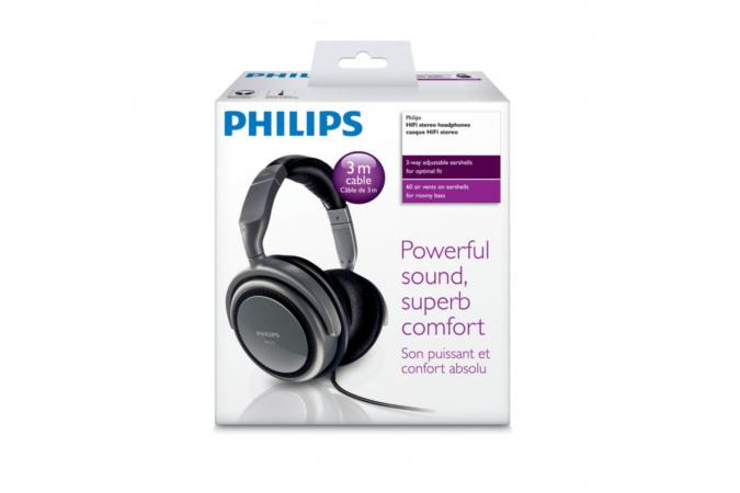 Для стереосистем Philips SHP2700